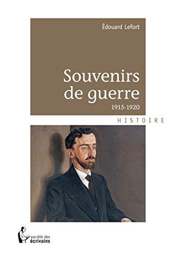Souvenirs de guerre: 1915-1920