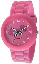 Sesame Street SW612AB Abby Cadabby Pink Rubber Watch