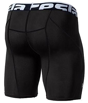 Tesla Men's Cool Dry Compression Baselayer Shorts Pants Capri Tights S17