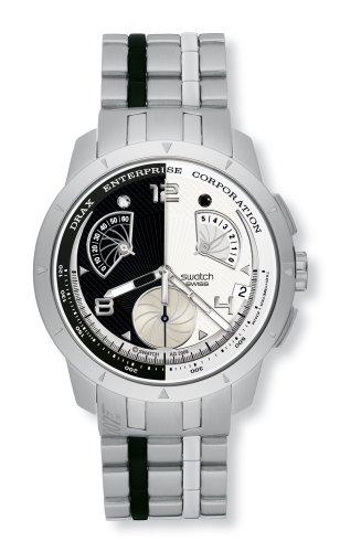 swatch (スウォッチ) 腕時計 007 VILLAIN COLLECTION ヒューゴ・ドラックス - ムーンレイカー YRS410G [正規輸入品]
