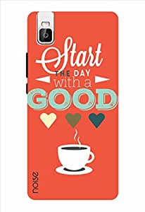 Noise Morning Coffee Orange Printed Cover for Huawei Honor 7I