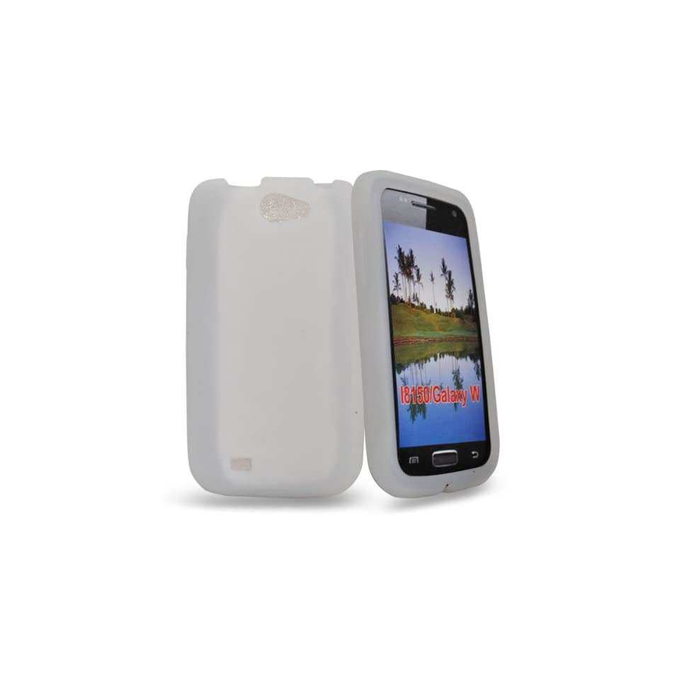 Mobile Palace  White gel Skin Case cover pouch for Samsung