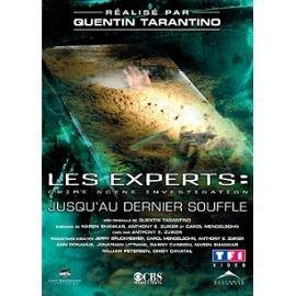 Les Experts = CSI : Crime Scene Investigation : jusqu'au dernier souffle / Quentin Tarantino, Réal.   Tarantino, Quentin. Auteur