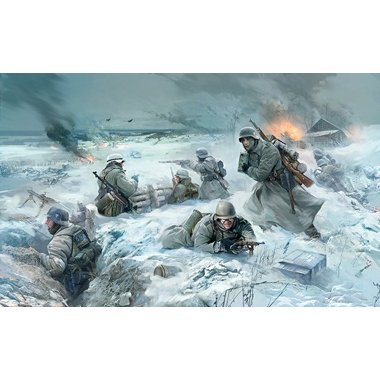 Buy Low Price Zvezda 3627 German Infantry Winter 1941/42 Figure (B003JF808C)