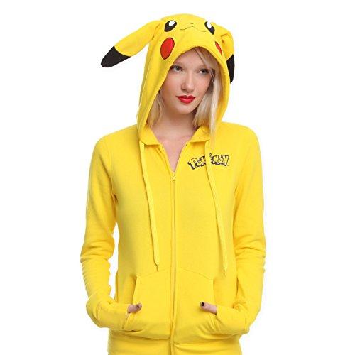 damen-herbst-und-winter-lose-langarmeligen-kapuzenpullover-pikachu-karikatur-kapuze-langarm-strickja
