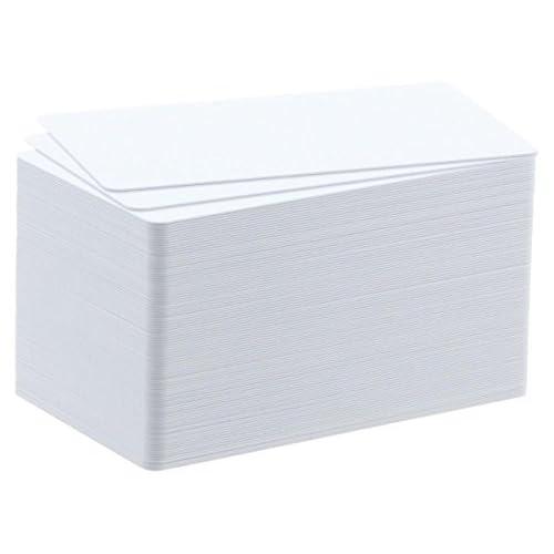 100 CARTE PVC FINE (20MIL - 0,50 MM) PER BADGY  CBGC0020W 03_CBGC0020W