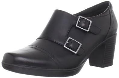 Clarks Women's Scheme Onyx Ankle Boot,Black,7 M US