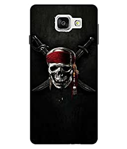 Snazzy Printed Back Cover for Samsung Galaxy A5-2016