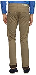 White House Jeans Men's Slim Fit Chinos (WH16ST03, Green, 30)