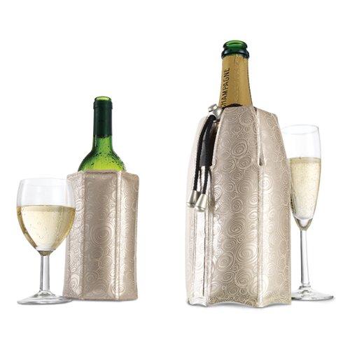 Platinum Color Active Cooler Wine & Champagne Bottle Chiller Set front-573417