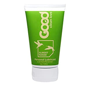 Good Clean Love Almost Naked Personal Lubricant, 4 oz Tubes