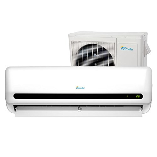 Senville SENL-24CD 24000 BTU 15 SEER Split Air Conditioner and Heat Pump, Mini