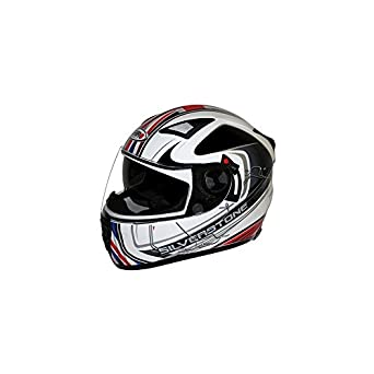 CASQUE INTEGRAL SHIRO SH-3700 GP DOUBLE ..ECRANS SILVERSTONE M