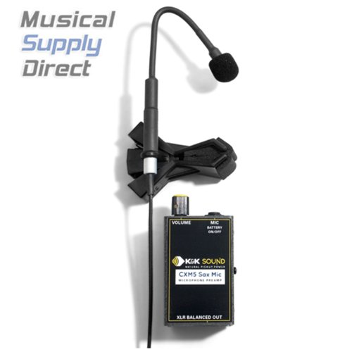 K&K Sound Cxm5 Saxophone Microphone System