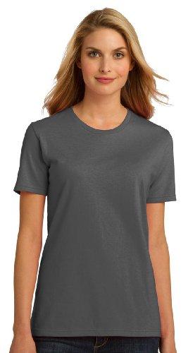 Port & Company Women'S Essential Feminine Fit T-Shirt_Charcoal_Xx-Large front-1031084