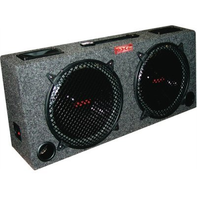 "NEW! XXX 2) 10"" Car Audio Subwoofer Sub Box 5"" Tweeters"