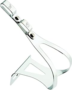 All-City Swan Road Style Double Toe Clips Chrome