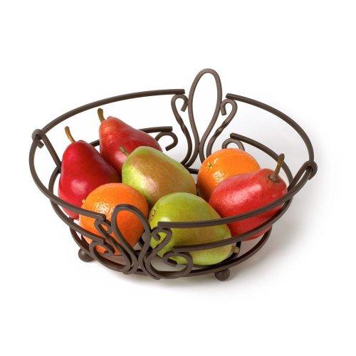 Spectrum Diversified Patrice Fruit Bowl, Bronze (Ceramic Bread Bowl compare prices)