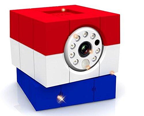 AmarylloIcam Hd 360 Wireless Ip Camera (Red/White/Blue)
