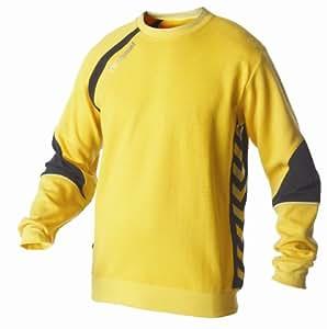 Hummel Sweat-shirt Technical Gold pour homme Jaune/noir Jaune sport/noir Small