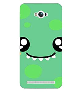 PrintDhaba Cartoon D-4225 Back Case Cover for ASUS ZENFONE MAX ZC550KL (Multi-Coloured)