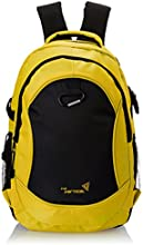 Vertical Fort Yellow Casual Backpack (VR/FRT14BP/JUS2015)