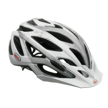 Buy Low Price Bell Helmets Sequence Helmet Matte White/Silver/Logos, M (BH12-SQE-MWSM)