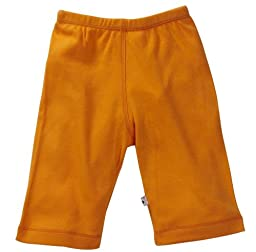 Babysoy Unisex Baby Oh Soy Comfy Pants - Tangerine - 3-6 Months