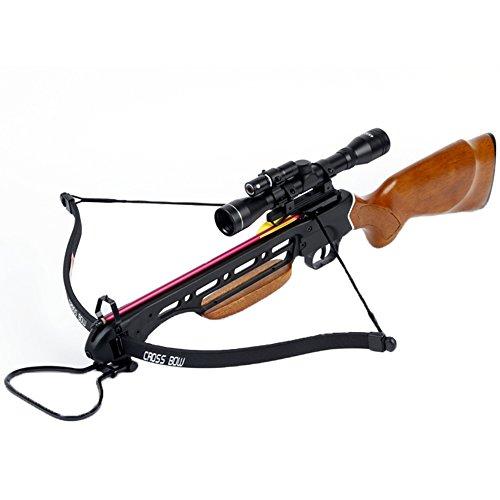Avalanche Trailblazer Crossbow Wooden Stock 150-Lb.