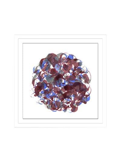 Shirley Williams Core Brick VII Artwork on Framed Paper
