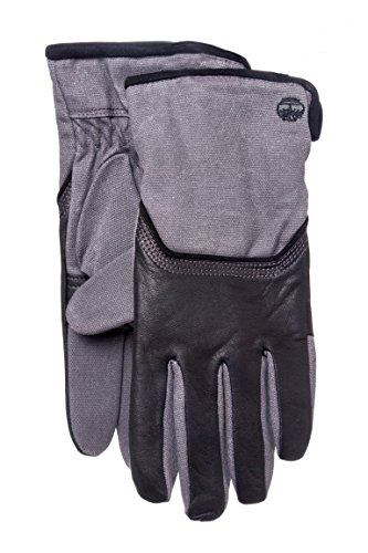 Men's Waxed Canvas Leather Work Gloves