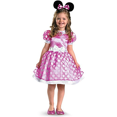 Pink Minnie Mouse Classic Kids Costume