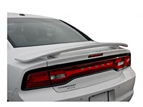 Dodge Charger Spoiler Painted in the Factory Paint Code of Your Choice 501 MTB