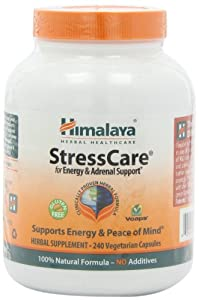 Himalaya Herbal Healthcare StressCare/Geriforte, Anti-Stress, 240 Vegetarian Capsules