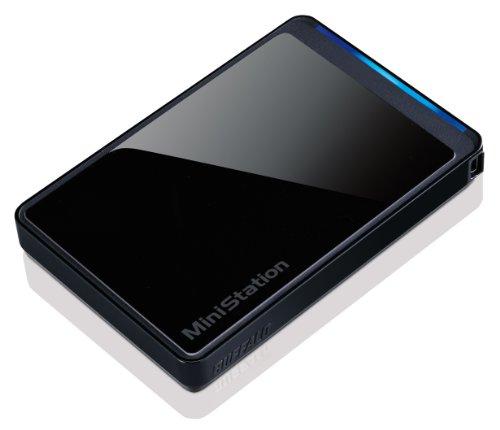 Buffalo Technology MiniStation Stealth 1 TB USB 2.0 Portable External Hard Drive HD-PCT1TU2/BB (Black)
