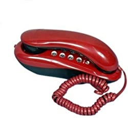 Landline Telephone Orientel KX-T333 Corded Phone (Red)