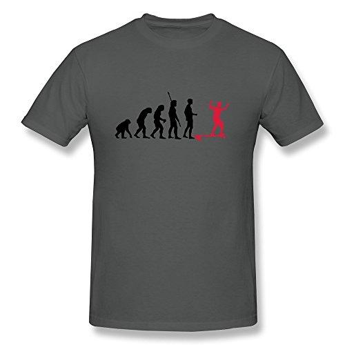 Longboard Evolution Men'S Funniest Tshirts