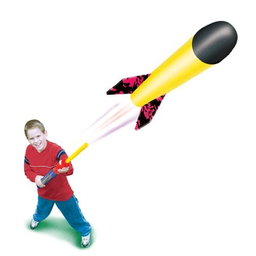 MINI Pump Rocket Set - Launcher & Foam Flying Rocket - 1