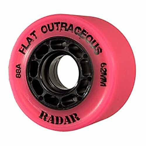 Best Review Of Radar Wheels Flat Outrageous Roller Skate Wheel