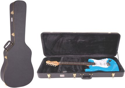 Kinsman Regular Hardshell Rectangular Electric Guitar Case