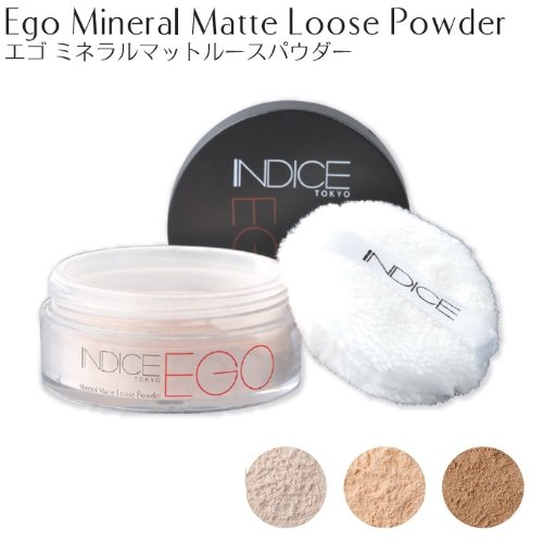 Indice Makeup エゴ ミネラルマット ルースパウダーEgo Mineral Matte Loose Powder
