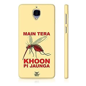 Be Awara Blood Sucking Mosquito Back Case for OnePlus 3
