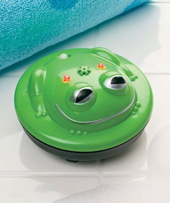 Light-up Frog Spinning Bath Fountain