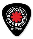 Red Hot Chili Peppers Tour 5 X Premium Guitar Picks Medium Plectrums