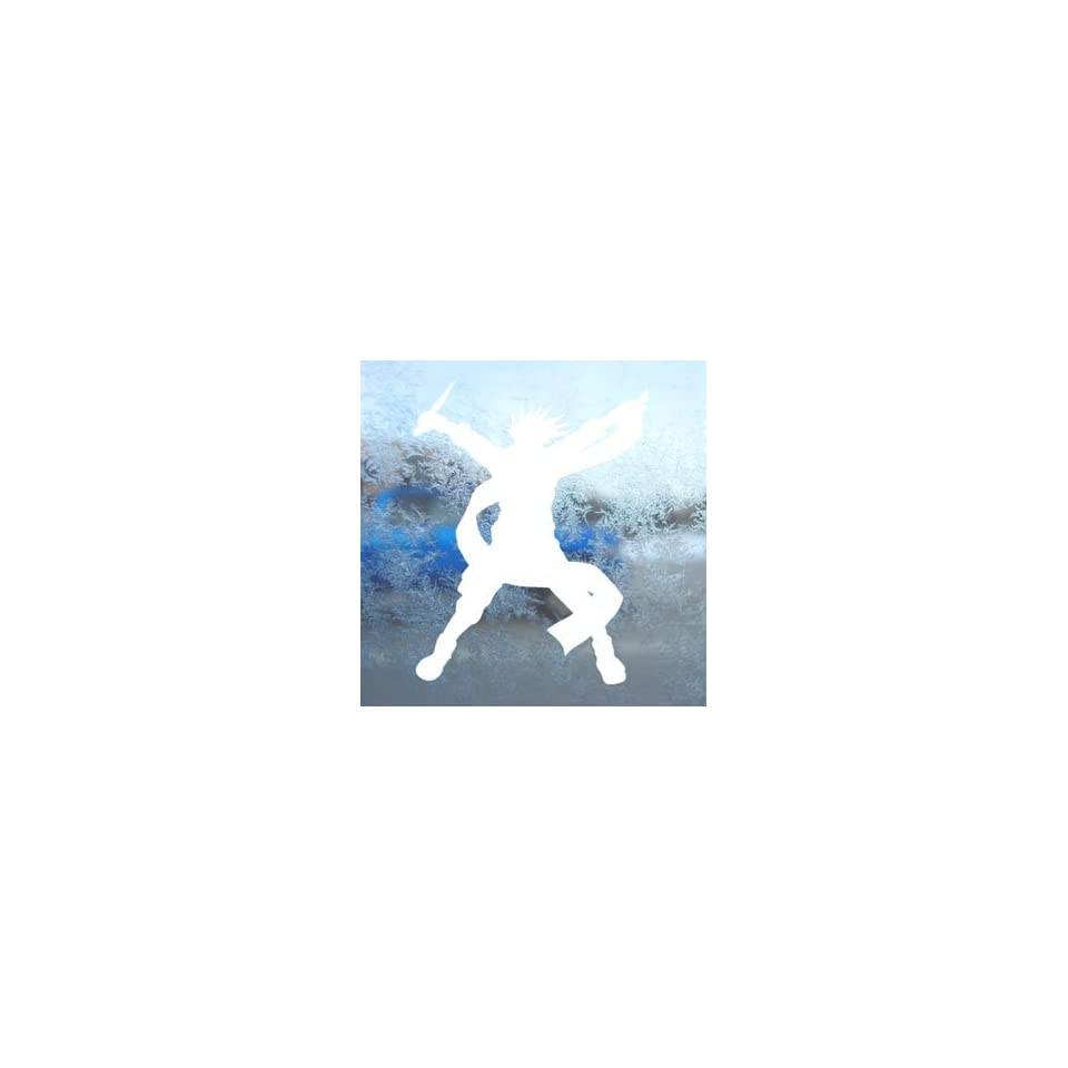 Naruto Kakashi White Decal Car Laptop Window Vinyl White Sticker