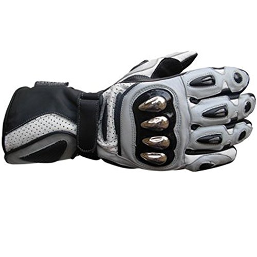 New Biker Cowhide Leather Motorbike Motorcycle Heavy Duty Waterproof Gloves Collection