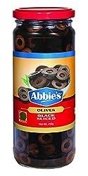 Abbie's Black Olive, Sliced, 450g
