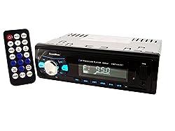 SoundBoss SB-45 Bluetooth Wireless With Phone Caller Id Receiver Car Media