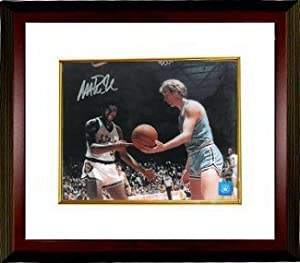 Magic Johnson Autographed Hand Signed Michigan State Spartans 16X20 Photo vs Bird...