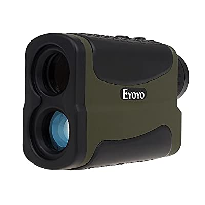 Eyoyo Golf Range Finder Waterproof 6x Multifunction RangeFinder with Range Scan Fog and Speed function ( 5~700 Yards ) by Eyoyo